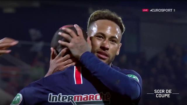 Neymar et Mbappé déjà buteurs, Draxler subtil : le résumé de Pontivy - PSG (0-4)