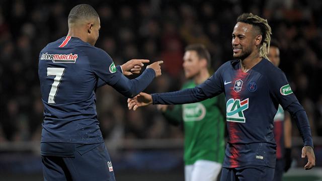 Le PSG sans Neymar et Mbappé à Amiens ?