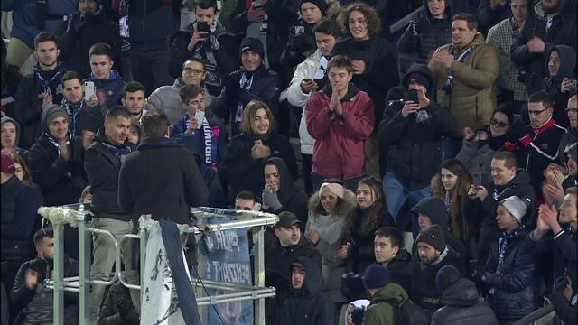 Séquence émotion : Carrasso a fait ses adieux à Bordeaux