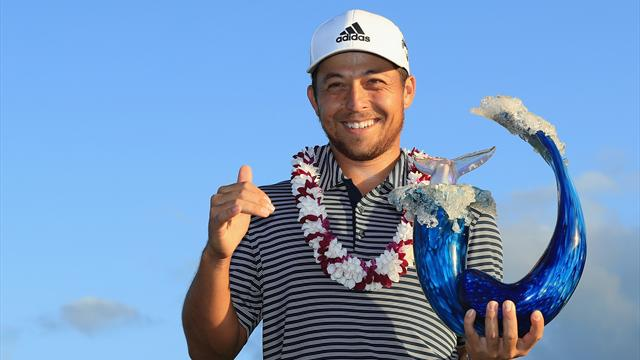 Schauffele smashes course record to win Tournament of Champions