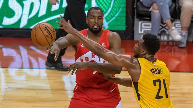 NBA: Ibaka y los Raptors en lo más alto, gran marca de Willy Hernangómez y un entrenador fulminado