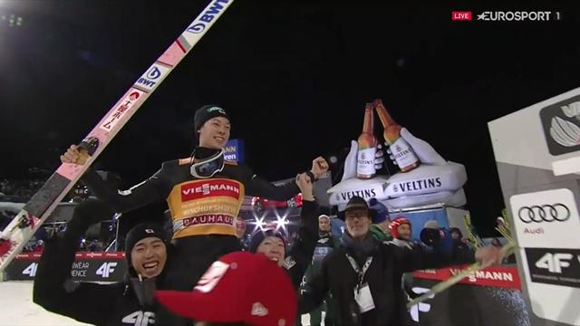 Vierschanzentournee   Grand Slam voor Kobayashi