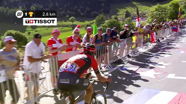 El día que... Un espectador tiró a Nibali en el Alpe d'Huez, aquí lo explica todo