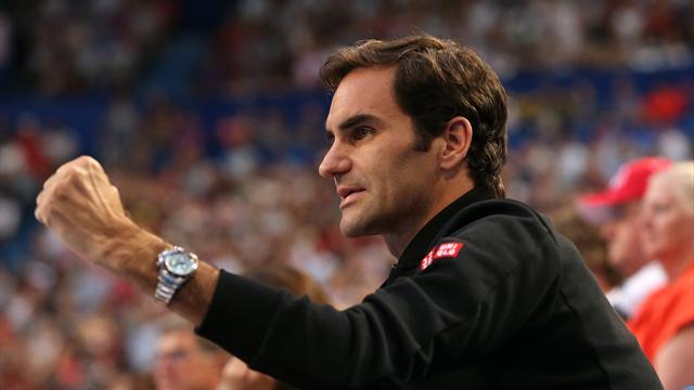"""Federer : """"Je sens que je peux battre tout le monde"""""""