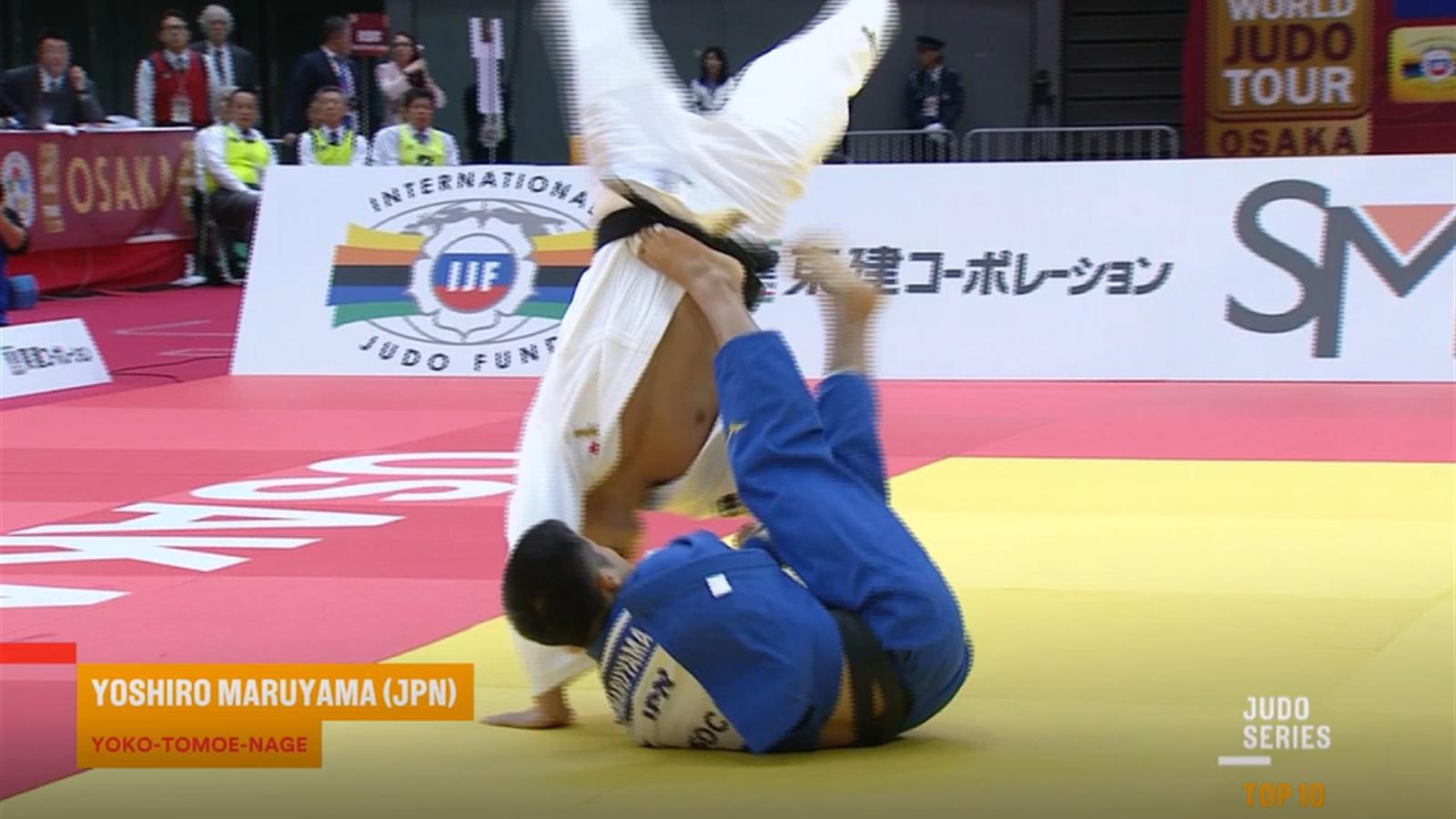 Top 10 best judo moments of 2018