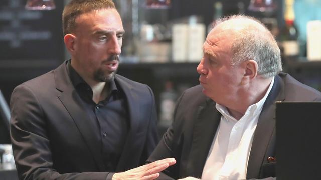 "Hoeneß über Ribéry: ""Hätte Steak an die Wand klatschen sollen"""