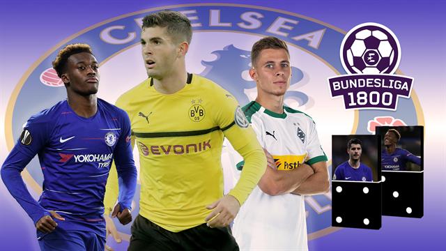 Bundesliga 1800 #70   Pulisic-Effekt: Welche Steine fallen im Transfer-Domino?