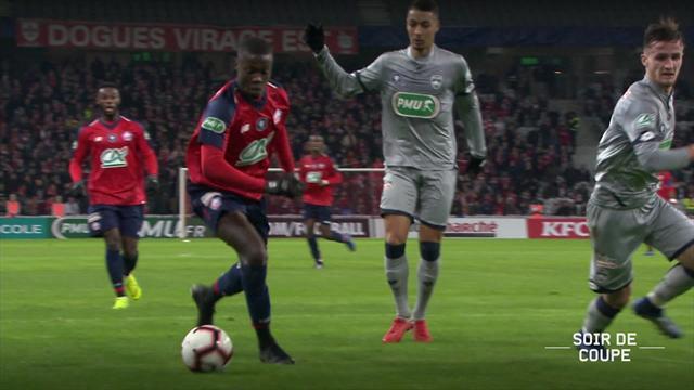 Un éclair pour une victoire sereine : le résumé de Lille - Sochaux