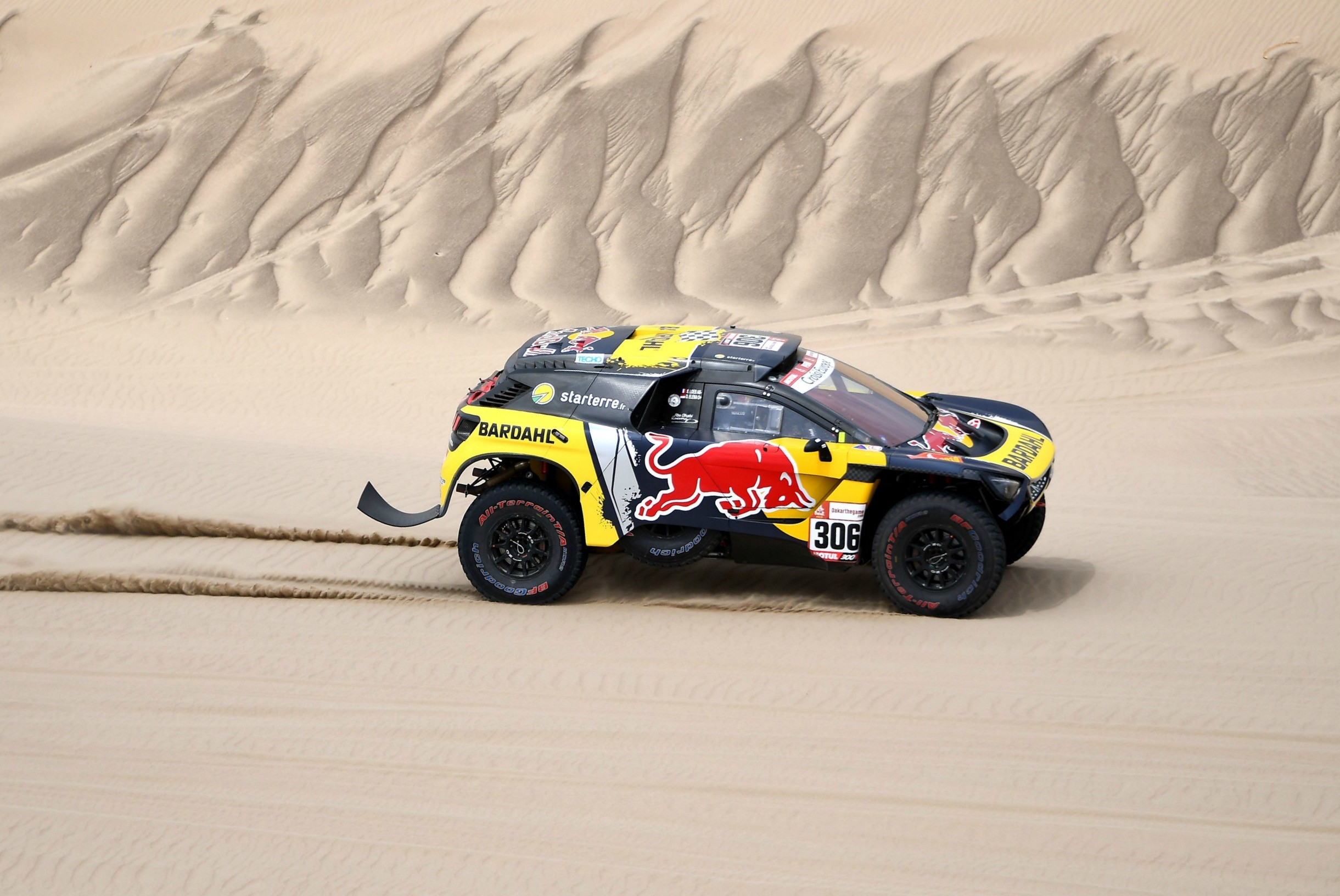 Sebastien Loeb (Peugeot) - Etape 1 Dakar 2019