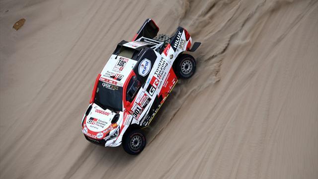 Qatar's Al-Attiyah takes early Dakar lead