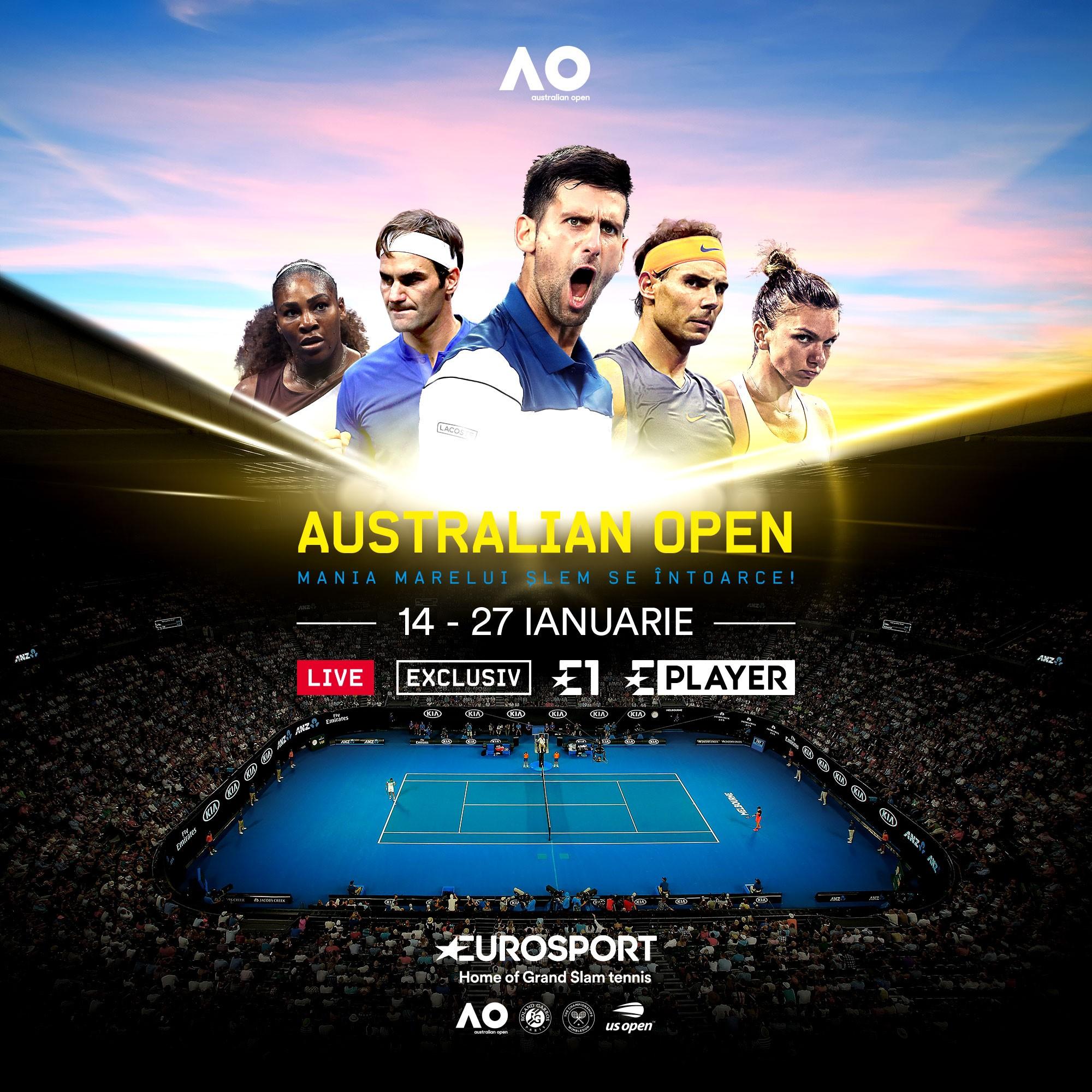 Australian Open Key Visual Romania