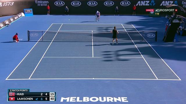 Her ryker Ruuds drøm om spill i Australian Open