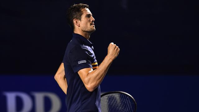 ATP Nueva York: García López pasa a octavos y Menéndez Maceiras cae en primera ronda