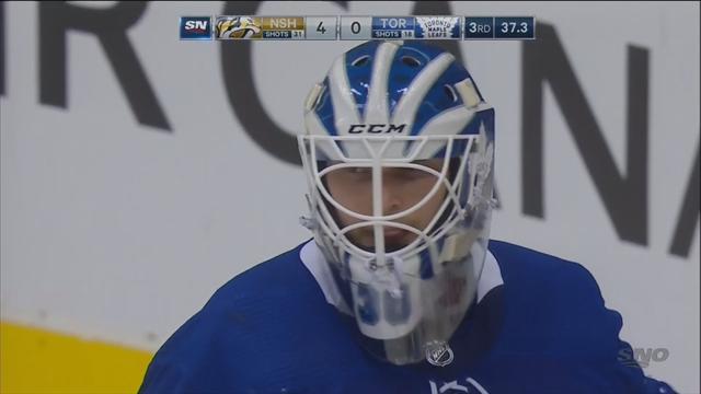 Игроки «Нэшвилла» красиво издевались над вратарем «Торонто», пока Мэттьюз обстреливал штанги