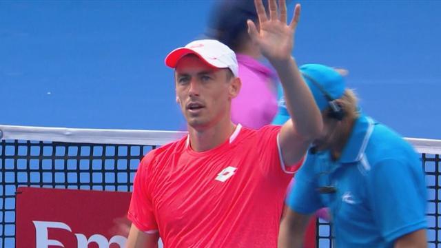 ATP Sydney: John Millman-Frances Tiafoe 4-6 7-6 7-5, gli highlights