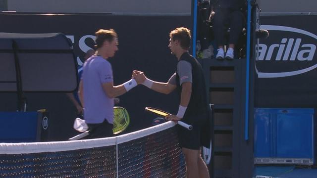 Australian Open: Henri Laaksonen-Casper Ruud 6-2 6-4, gli highlights