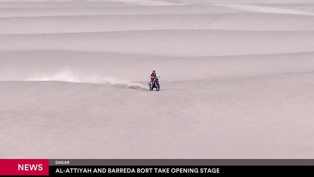 La Dakar 2019 inizia nel segno di Barreda e Al-Attiyah