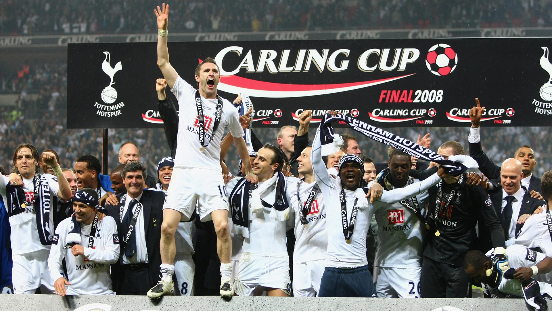 Carling Cup-triumfen i 2008