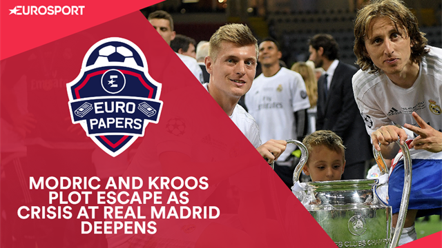 Euro Papers: Modric and Kroos plot escape as crisis at Real Madrid deepens