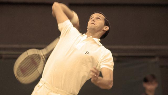 Historias Eurosport: Roy Emerson y el récord que desafían Federer y Djokovic
