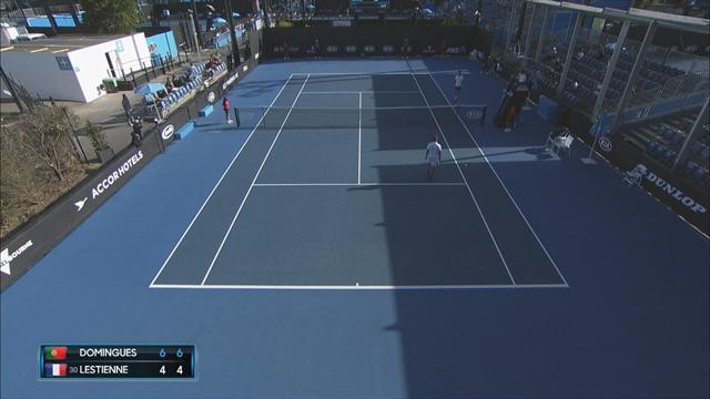 Highlights as Domingues beats Lestienne in Australian Open qualifiers