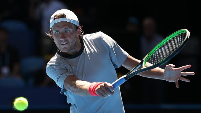 Pouille makes early exit in Sydney