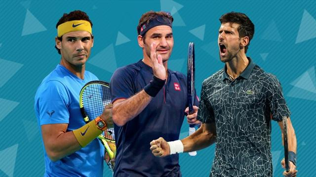 Federer, Nadal and Djokovic 'not unbeatable' at Slams - Mouratoglou