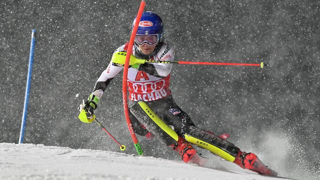 Shock as Shiffrin misses out on Slalom victory in Flachau