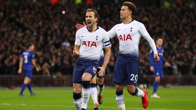 Kane gives Spurs first-leg advantage but League Cup semi VAR from over