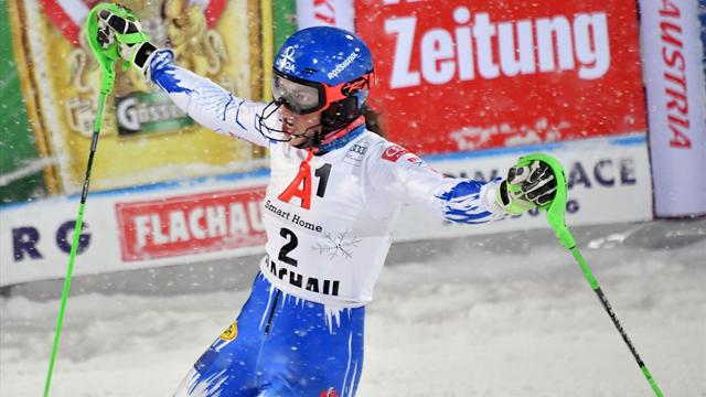 Watch the brilliant Vlhova run that proved too hot for Shiffrin to handle