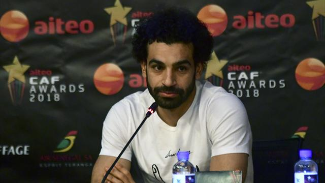 Mohamed Salah wins CAF African Player of the Year award