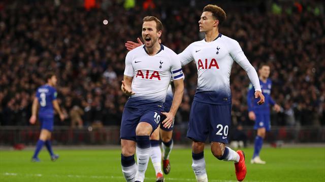 Kane con il VAR, il Chelsea al tappeto: al Tottenham basta un rigore per vincere la semi d'andata