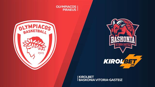 Highlights: Olympiacos Pireo 91-87 Kirolbet Baskonia Vitoria