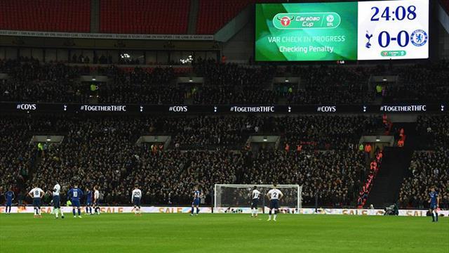 1-0. El VAR y los palos echan una mano al Tottenham