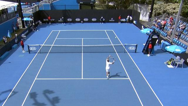 Australian Open qualifying highlights: Evans dominates Dutra Silva