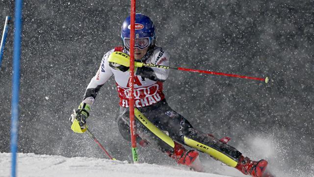 Alpine Skiën | Shiffrin raakt ongeslagen reeks kwijt in Flachau