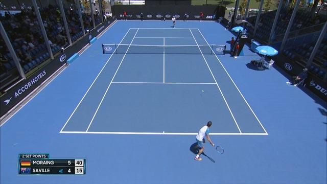 Highlights: Moraing auf Kurs bei Australian Open