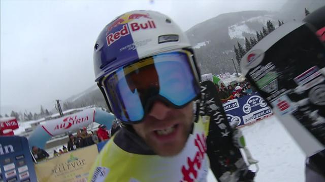 Austria beat Italy in Bad Gastein parallel snowboard slalom