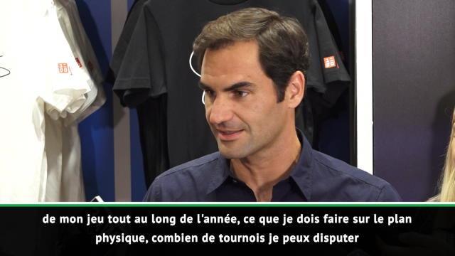 """Open d'Australie - Federer : """"Passer plus de temps en famille en 2019"""""""