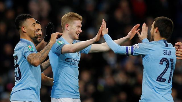 Manchester City écrase Burton Albion — League Cup