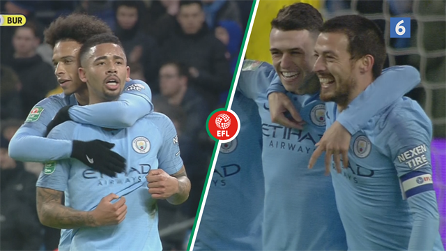 Highlights: Manchester City smadrede Burton fra League One med ni mål