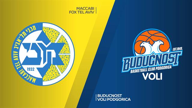 Highlights: Maccabi Fox Tel Aviv 81-76 Buducnost VOLI
