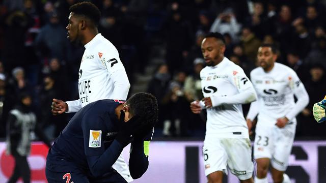 В ворота «ПСЖ» поставили 3 пенальти, и парижане благополучно выбыли из Кубка Лиги