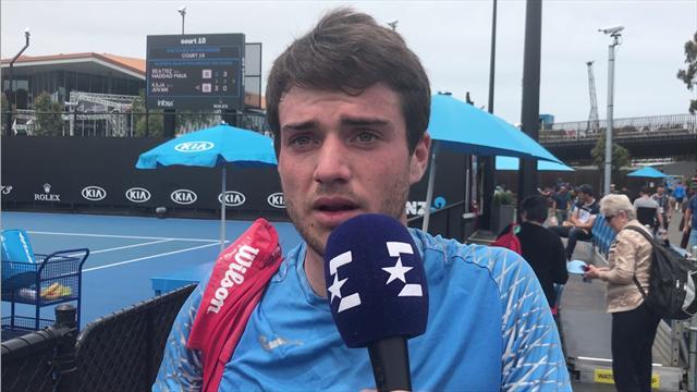 """Open Australia 2019 - Pedro Martínez: """"Meterme en el cuadro final es un sueño que tengo desde niño"""""""
