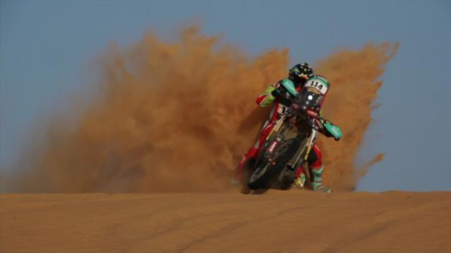 Africa Eco Race image of the day - The sand trap