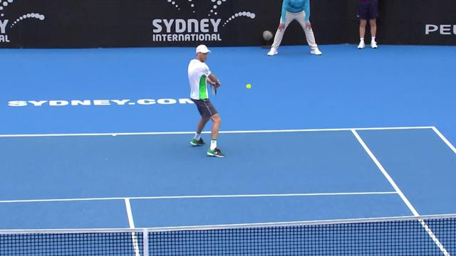 ATP Sydney highlights: Tsitsipas falls to Seppi
