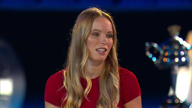 Australian Open : Wozniacki talks about her illness