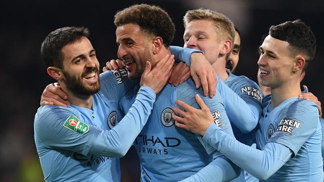 'Goals in 2019: Walker 1, Ronaldo 0' – Man City defender aims joke at football's GOATs