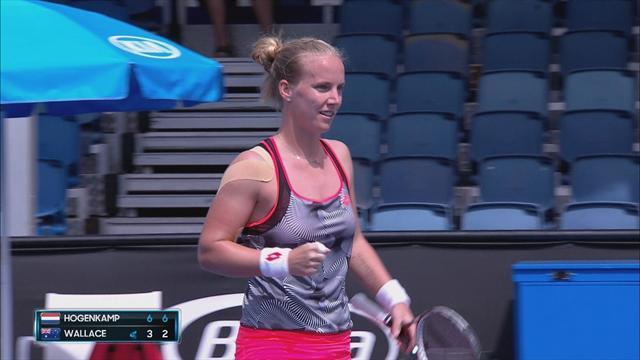 Tennis | Hogenkamp één overwinning verwijderd van hoofdtoernooi Australian Open