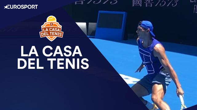 La Casa del Tenis: El camino de Nadal, Muguruza, Federer y Djokovic en el Open de Australia